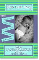 BC148 - baby boy announcement