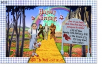 BC201 - Wizard of Oz Invitation