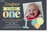 CU1014 - Boys Birthday Invitation