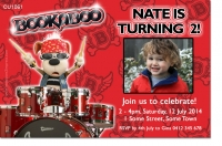 CU1061 - Bookaboo Birthday Invitation