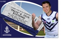 CU1062 - Fremantle Dockers Birthday Invitation