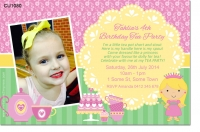 CU1080 - Girls Tea Party Invitation