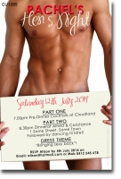 CU1086 - Sexy Hens Night Invitation