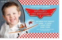 CU1103 - Disney Planes Birthday Invitation
