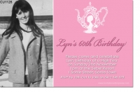 CU1126 - Ladies High Tea Birthday Invitation