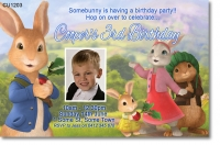 CU1203 - Boys Peter Rabbit Birthday Invitation