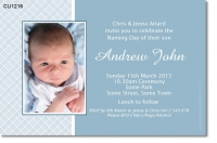 CU1216 - Boys Naming Day Invitation
