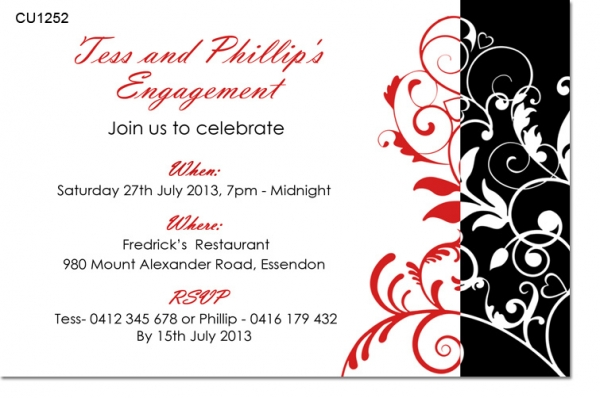CU1252 - Engagement Invitation