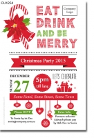 CU1254 - Work Christmas Party Invitation