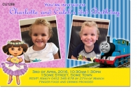 CU1289 - Dora And Thomas Joint Invitation