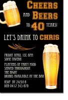 CU1292 - Mens Beer Invitation