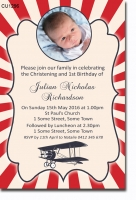 CU1296 - Bi-Plane birthday Invitation