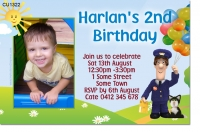 CU1322 - Postman Pat Birthday Invitation