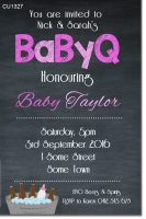 CU1327 - Babyq Baby Shower Invitation
