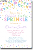 CU1351 - Baby Shower Baby Sprinkle Invitation