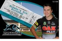 CU1358 - Penrith Panthers Birthday Invitation