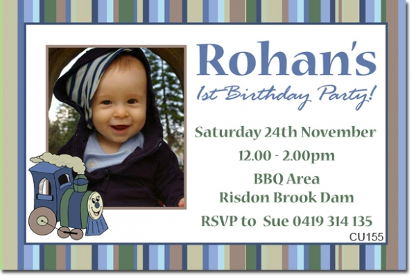 CU155 - Birthday Boy - Rohan