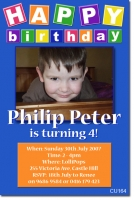 CU164 - Birthday Boy - Philip