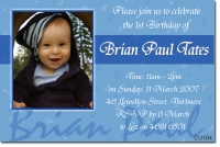 CU184 - Birthday Boy - Brian