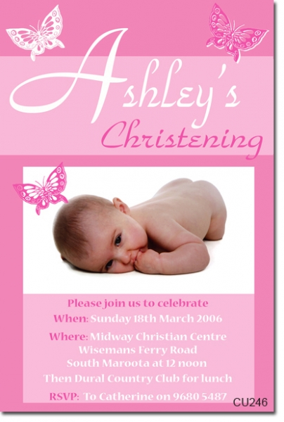 CU246 - Christening Girl - Ashley