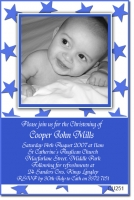 CU251 - Christening Boy - Cooper Blue