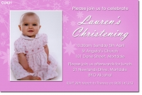 CU431 - Christening Girl - Lauren - Pink