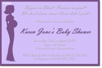 CU438 - Baby Shower - Lady Purple