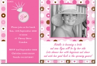 hens night, hens party, kitchen tea & bridal shower photo invitations