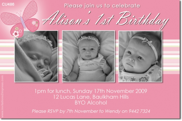 CU486 - Birthday Girl - Alison