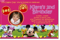 CU567 - Themed Birthday Girl - Mickey Mouse Clubhouse