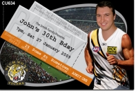 CU634 - Adult Birthday - Richmond Tigers