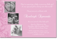 baby shower invitations for girls templates