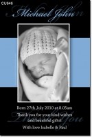 CU646 - Baby Boy Announcement