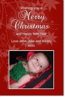 CU661 - Christmas Card Red