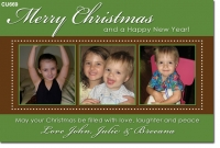 CU669 - Christmas Card 3 photos