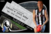 CU675 - Collingwood Birthday