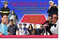 CU678 - Working 9 to 5 Invitation
