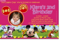 CU724 - Mickey Mouse Clubhouse Invitation