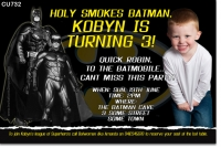 CU732 - Batman Invitation photo