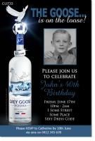 CU733 - Grey Goose Vodka Invitation