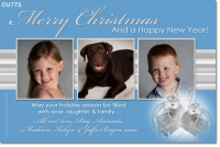 CU773 - Christmas Card Photo Invitation