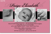 CU775 - Christening Photo Invitation