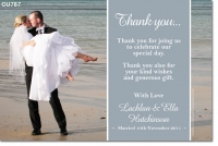 CU787 - Wedding Thank you
