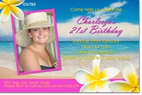 CU792 - Ladies Beach Party Invitation