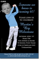 CU803 - Mens Golf Invitation