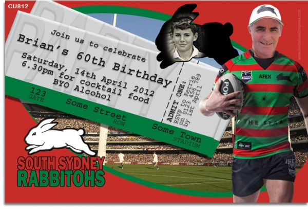 Cu812 south sydney rabbitos invitation mens birthday invitations cu812 south sydney rabbitos invitation filmwisefo