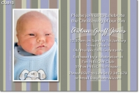 CU813 - Christening Invitation with Cross