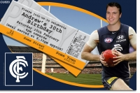 CU820 - AFL Carlton Football Club Invitation