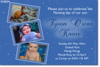 CU823 - Boys Naming Day Invitation