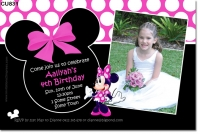 CU831 - Minnie Mouse Birthday Invitation